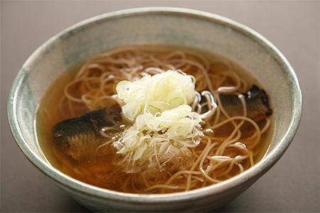 鲱鱼荞麦面
